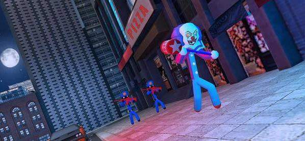 邪恶小丑城市英雄图2